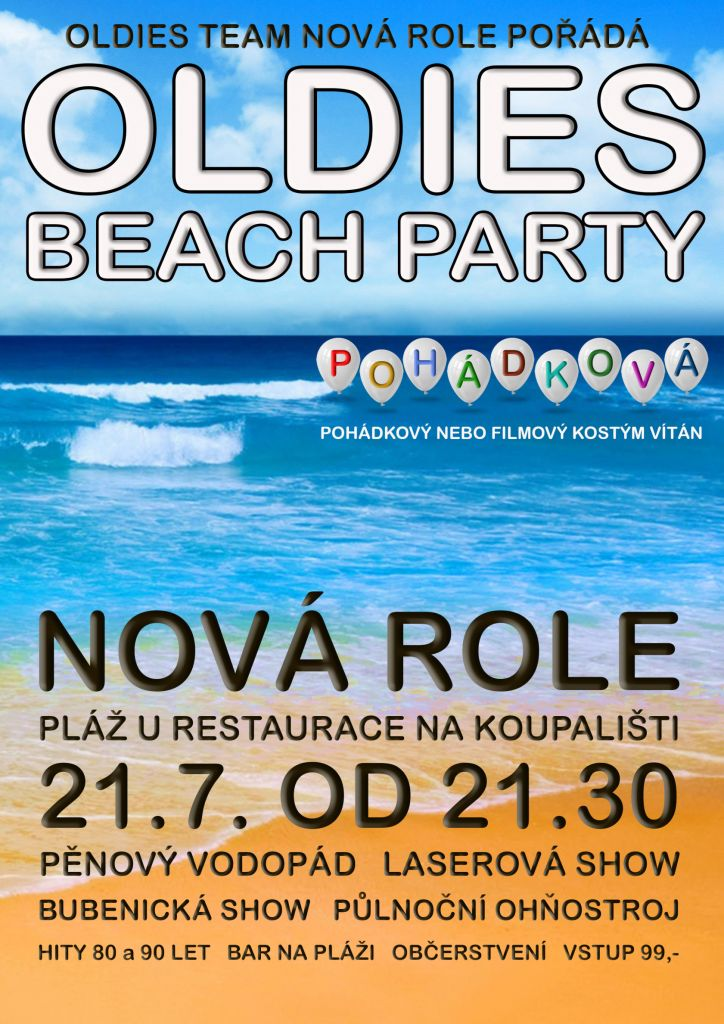 Oldies beach party